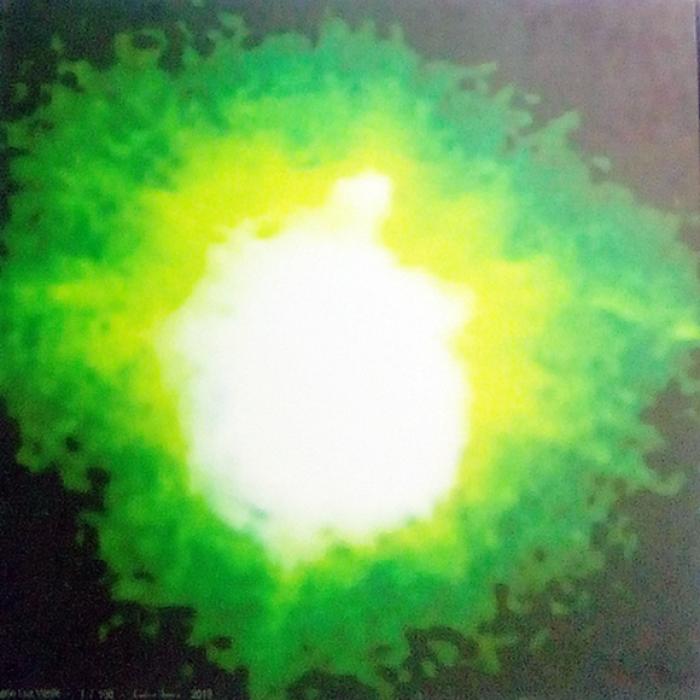 Tela canva – Luz verde