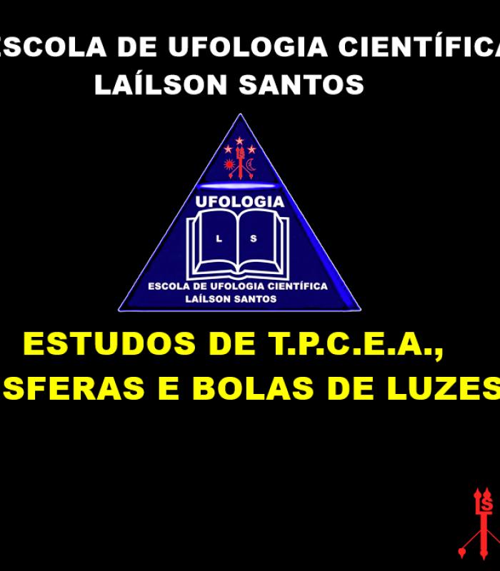 Estudos de T.P.C.E.A., esferas e bolas de luzes.