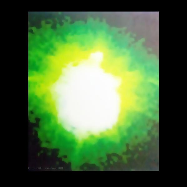 Tela canva-Luz verde