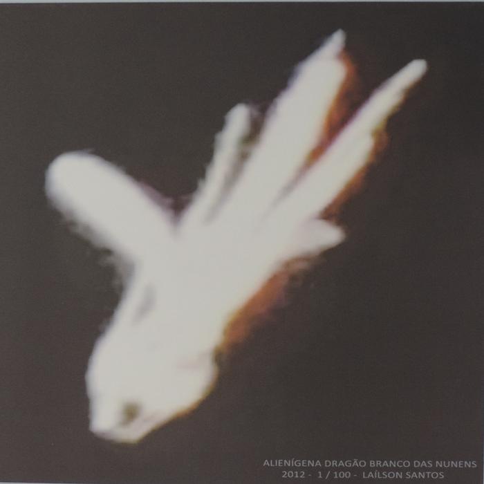 Tela canva – Alienígena Dragão Branco das Nuvens