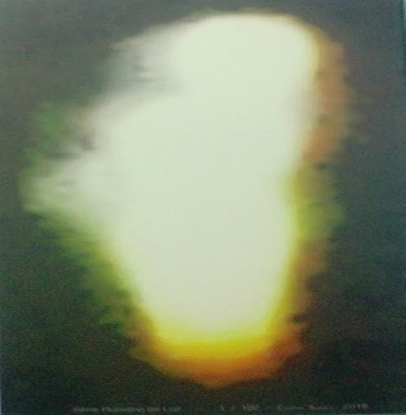 Tela canva – Humano de luz