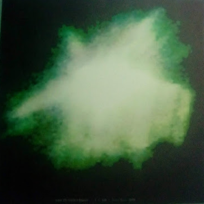 Tela canva – Ufo verde e branco