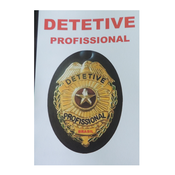 Caderno de  Detetive Profissional, para anotações, rascunhos e recados