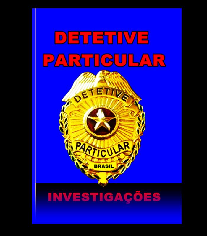 Caderno Detetive Particular/capa azul
