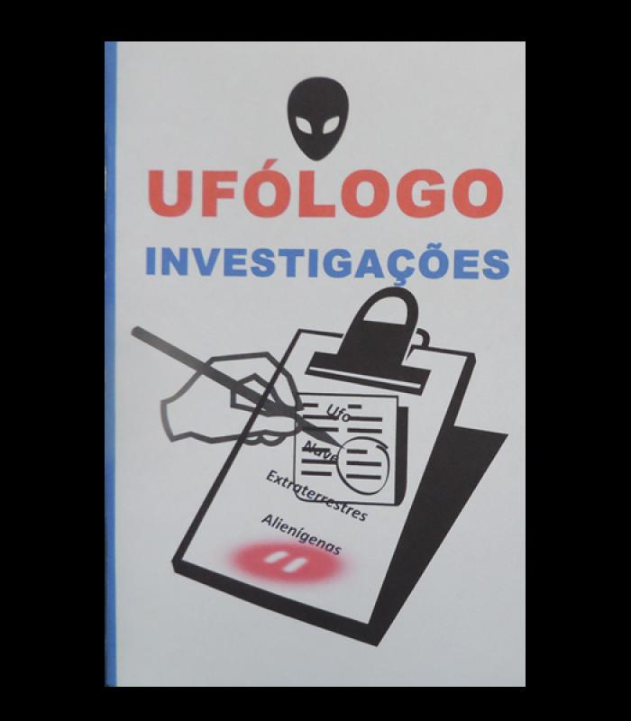 Caderno de ufólogo, para anotações, recados e rascunhos