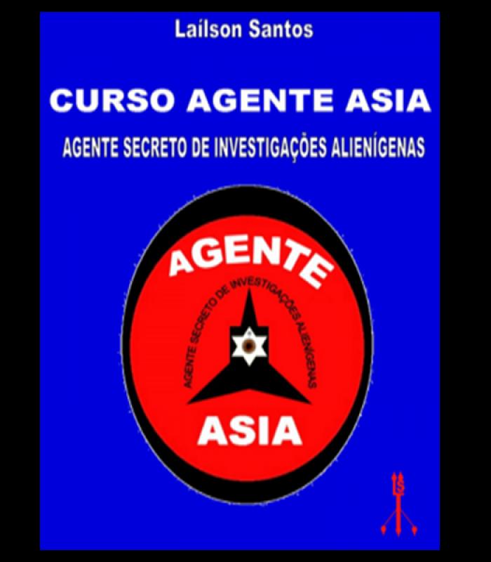 ONLINE – Curso Agente Asia =  Agente Secreto de Investigações Alienígenas